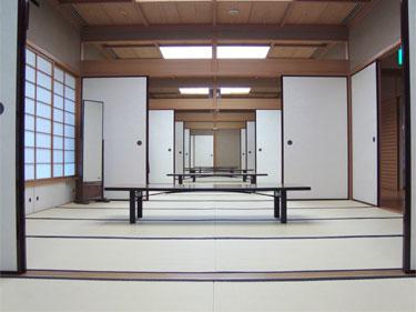 能楽ホール楽屋(和室)内部画像(その1)