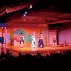 能楽ホールでのファッションショーその2