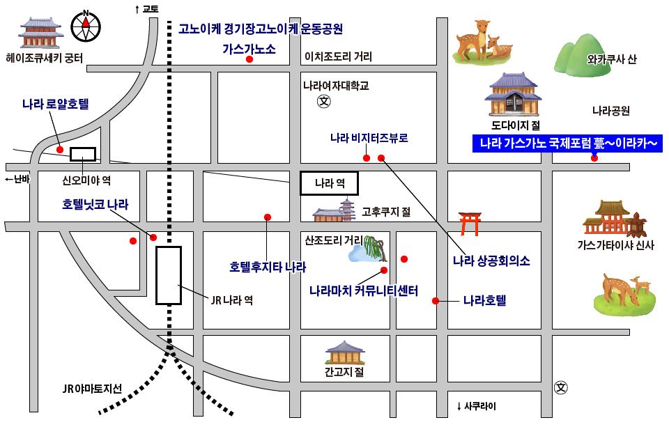 Stations Map 한글어