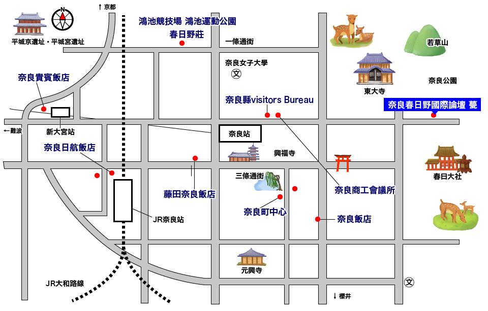Stations Map 中文(繁体字)